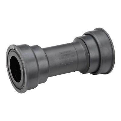 Shimano Road Bike Bottom Bracket - Press Fit With Cover - Black - For 86.5mm