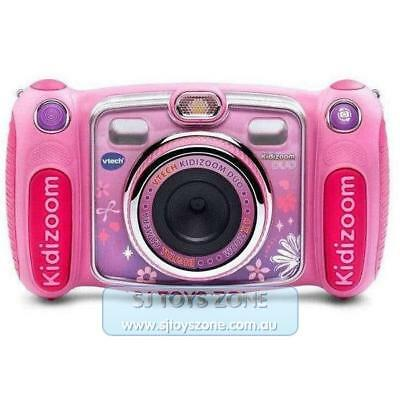 VTech Kidizoom Duo Digital Camera 2.4 Inch Coloured LCD Screen for Kids - Pink