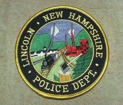 NH Lincoln New Hampshire Police Patch