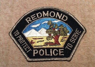 OR Redmond Oregon Police Patch
