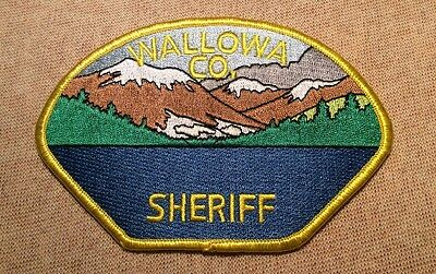 OR Wallowa County Oregon Sheriff Patch
