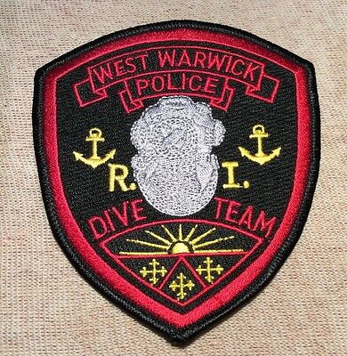 RI West Warwick Rhode Island Dive Team Police Patch