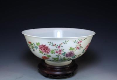 Superb Chinese Enameled Porcelain Bowl.