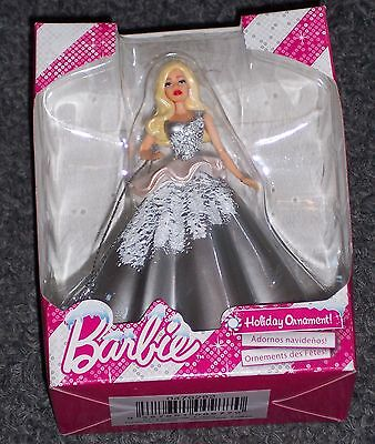 Barbie Holiday Ornament - 2013 - New