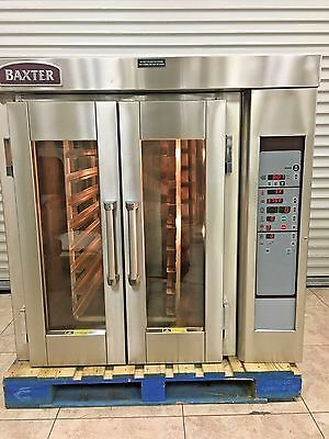 Baxter OV300E Electric Mini Rotating Rack Oven with Stand
