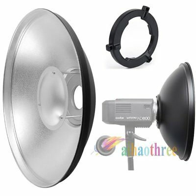 Godox 55cm Beauty Dish Reflector Cover For AD600 AD600B AD600BM AD600M Flash