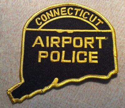 CT Connecticut Airport Police Patch