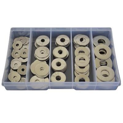 Imperial Mudguard Washer Assortment Kit 3/16 1/4 5/16 3/8 1/2 Stainless 316 #128