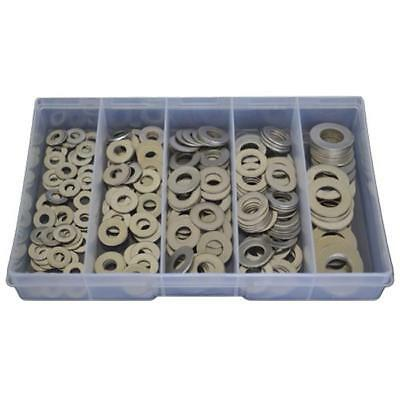 Imperial Flat Washer Assortment Kit 3/16 1/4 5/16 3/8 1/2 Stainless G304 #125