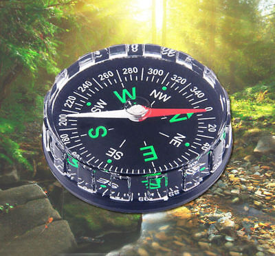 Compass Liquid New Camping  Filled Outdoor Button Pocket Hiking Survival HOT