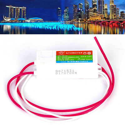 3KV 30mA Plastic Neon Sign Electronic Transformer Load 2.5M Power Supply HB-C02