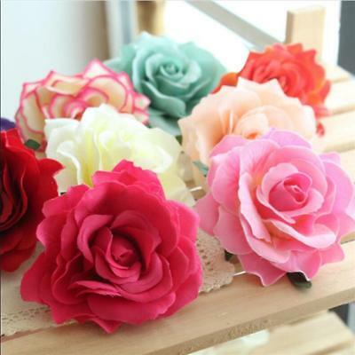 Brooch Party Bridal Accessories Wedding Bridesmaid Rose Flower Hair Clip Hairpin
