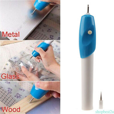 New Electric Engraver Pen Engraving Etching Carve Handheld Tool Jewellery Craft