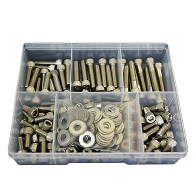 """Socket Cap Screw Assortment Kit 5/16"""" UNC Stainless G304 Nut Washer BSW Bolt #94"""