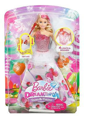 Barbie Dreamtopia Sweetville Princess Doll - DYX28 - NEW