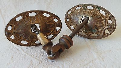 Brass Pulls Cabinet Connector Antique Hardware Keeler Drawer Pull Handle Knob