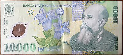 ROMANIA - 10 000 LEI - 2000 - Ticket from bank Quality : TTB