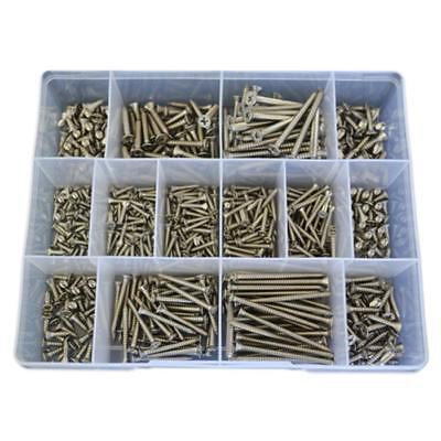 Countersunk Self Tapping Screw Assortment Kit 4g 6g 8g Marine Stainless G316 #60