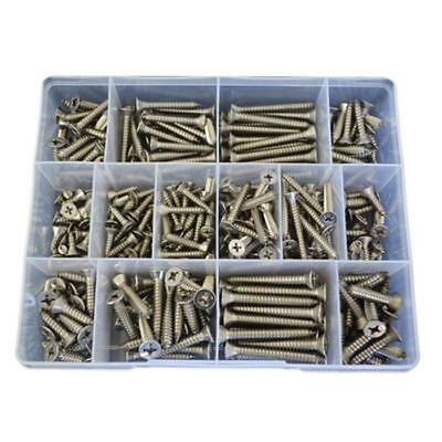 Countersunk Self Tapping Screw Assortment Kit 10g 12g 14g Stainless G316 #62