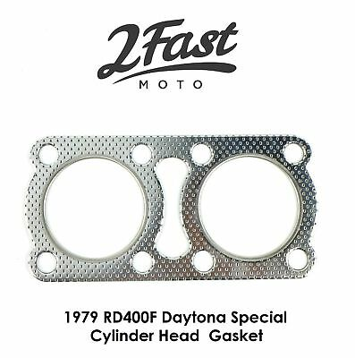 Yamaha Cylinder Head Gasket 2V0-11181-00 Replacement 1979 RD400F Daytona Special