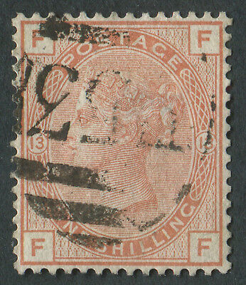 GB Used in HAITI Z52 1s Orange-Brown, FF, E53 Port-Au-Prince