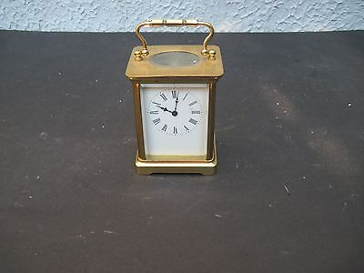 Vintatge Clocks-Carriage Clock French, All Brass
