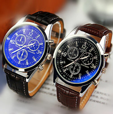 Fashion AH Casual Luxury Men's Women's Stainless Steel Sport Quartz Wrist Watch