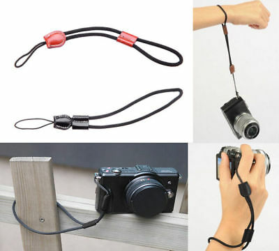 Camera Wrist Hand Strap Genuine Leather for Canon Nikon Olympus Leica H OAU NEW
