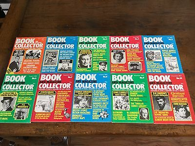 Book and Magazine Collector year 1984 first 10 books