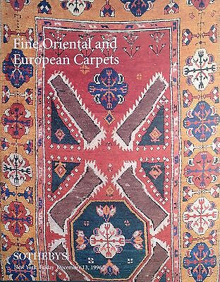 Sotheby's FINE ORIENTAL AND EUROPEAN CARPETS New York Sale 1996