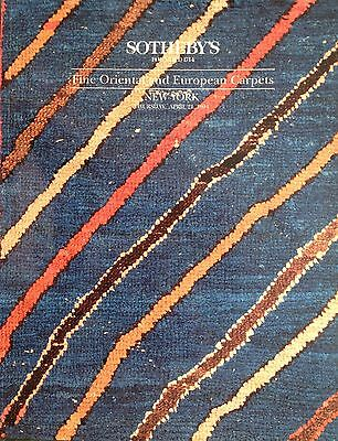 Sotheby's FINE ORIENTAL AND EUROPEAN CARPETS New York Sale 1994