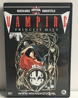 "Vampire ""Princess Miyu"" Manga Anime DVD NL Subs Dutch Version"