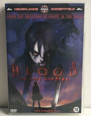 Blood The Last Vampire Manga Anime DVD NL Subs Dutch Version