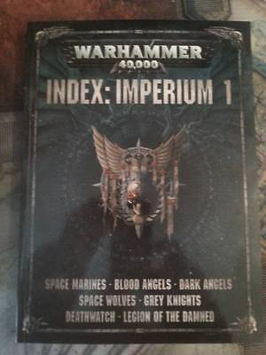 Warhammer 40K 8Th Edition Index Imperium 1 - New & In Stock