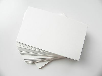 100 ct. Ivory Blank Business Cards 80 lb.Cover - 3.5 x 2 Wedding place cards