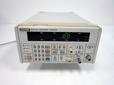 Advantest R5372P Microwave Counter With Option 01