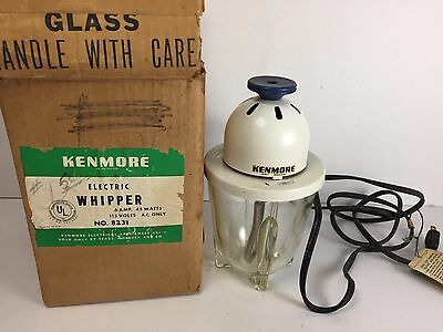 Vintage Kenmore Electric Whipper Mixer #8231