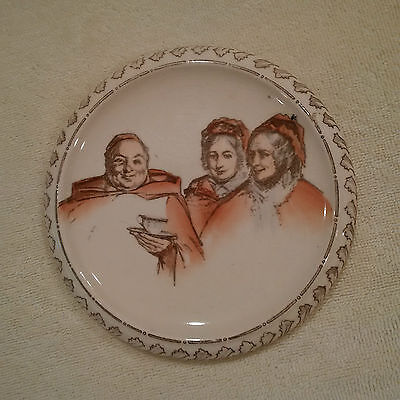 "Royal Doulton Trivet ""Monks and Mottoes C"""