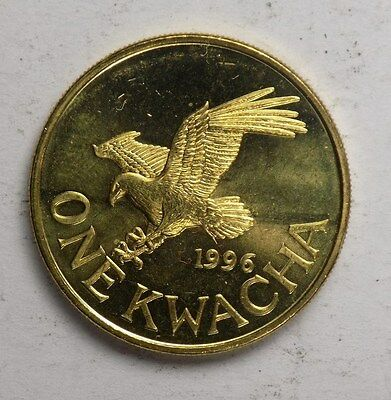 Malawi 1996 1 Kwacha -  Brilliant Uncirculated