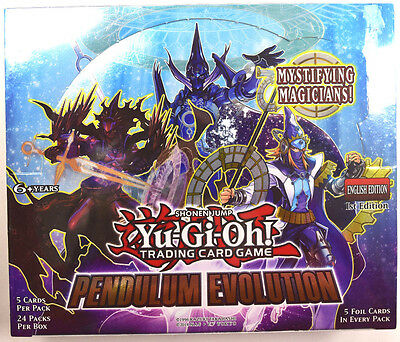 Yu-gi-oh! Yugioh Pendulum Evolution Factory Sealed 1st Ed. English Booster Box