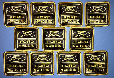 10 Lot Rare Vintage Ford New Holland Tractors Farmer Hat Jacket Patches Crests A