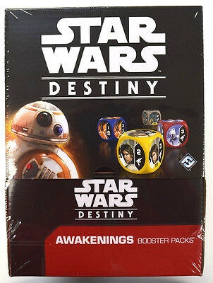 Star Wars Destiny - Awakenings Dice & Card Game Factory Sealed Booster Box