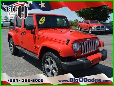2017 Jeep Wrangler SAHARA 2017 Jeep Wrangler Sahara Unlimited Used 3.6L V6 24V Automatic 4WD SUV