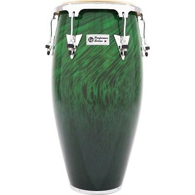 LP Performer Series Conga with Chrome Hardware 11 in. Quinto Green Fade LN