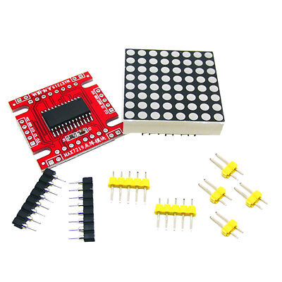 LED Assembled Dot Matrix Parts Microcontroller DIY Raspberry Pi for Arduino