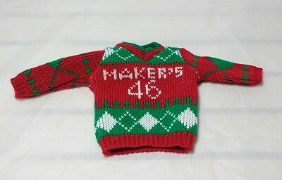 Makers Mark 46 Ugly Christmas Sweater Fits 750ml Bottle