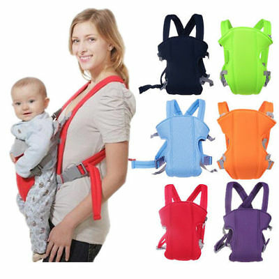 Infant Ergonomic Adjustable Hot Baby Carrier Sling Breathable Rider Backpack