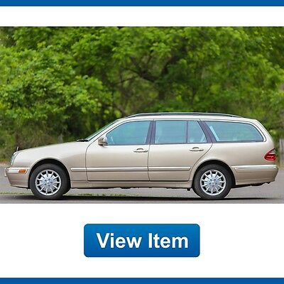 2000 Mercedes-Benz E-Class Wagon 2000 Mercedes Benz Wagon e320 4Matic 1 Owner AWD 3rd Row Seat CARFAX AWD
