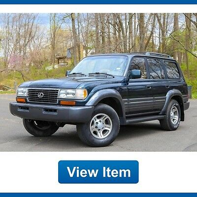 1996 Lexus LX Base Sport Utility 4-Door 1996 Lexus LX450 4WD Serviced  LX 450 3rd Row Land Cruiser CARFAX Tow fj80