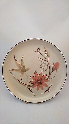 """California Potteries Winfield USA 10 3/8"""" PASSION FLOWER Dinner (s)"""